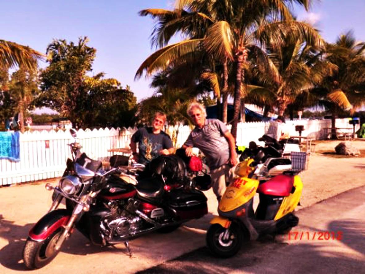 Motorrad Key West