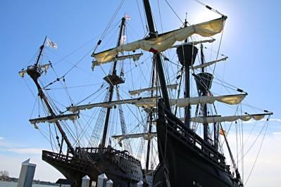 altes Schiff 1080