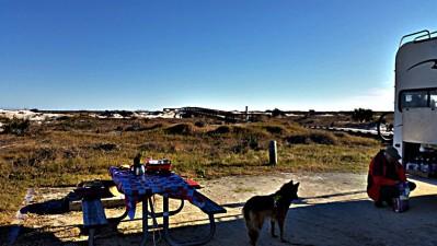 Fort Clinch Blick auf Beach 20160119_092314